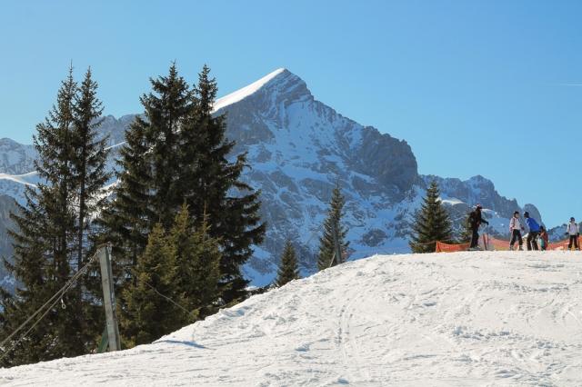 Garmisch-Partenkirchen, laskettelu, alpit